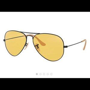 Ray-Ban aviator sunglasses Washed Evolve model
